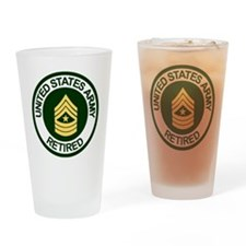 ArmyRetiredSergeantMajor.gif Drinking Glass