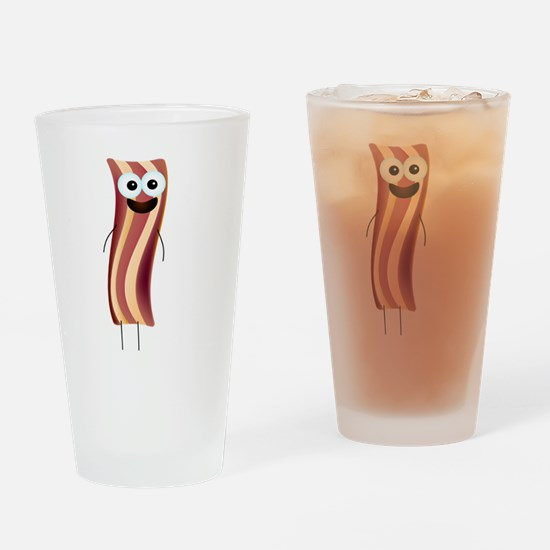 Happy Bacon! Drinking Glass