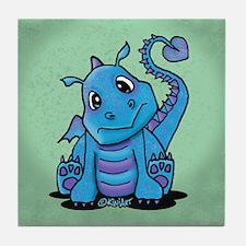 Baby Dragon Tile Coaster
