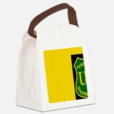 ForestServiceBlackCapGreen.gif Canvas Lunch Bag