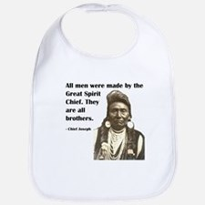 Brotherhood Quote Bib