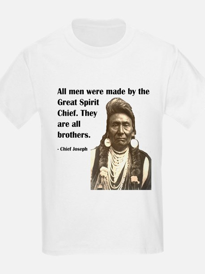 Brotherhood Quote Kids T-Shirt