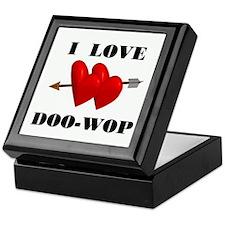 LOVE DOO-WOP Keepsake Box
