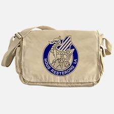 Army3rdInfantryDivisionCrestBonnie.g Messenger Bag