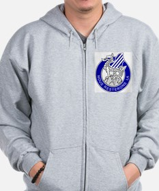 Army3rdInfantryDivisionCrestBonnie.gif Zip Hoodie