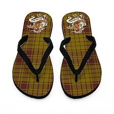 MacMillan Tartan Unicorn Flip Flops