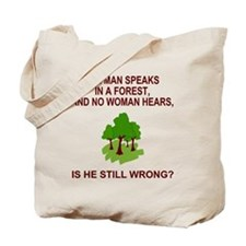 MiscAManInTheForest2X.gif                 Tote Bag