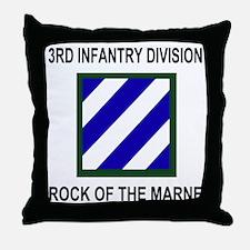 Army3rdInfantryShirt3.gif Throw Pillow