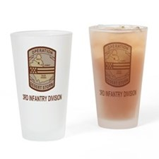 Army3rdInfantryDesertStorm5.gif Drinking Glass