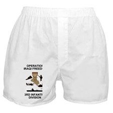 Army3rdInfantryIraqiFreedom5.gif Boxer Shorts