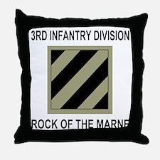 Army3rdInfantryShirt5.gif Throw Pillow