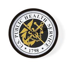 USPHS-BlackJersey.gif Wall Clock