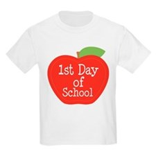 1st Day Of School Apple T-Shirt