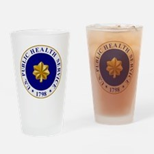 USPHS-LCDR.gif Drinking Glass