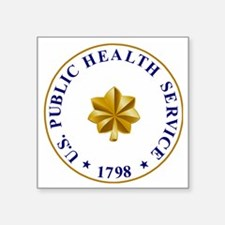 "USPHS-LCDR2.gif Square Sticker 3"" x 3"""