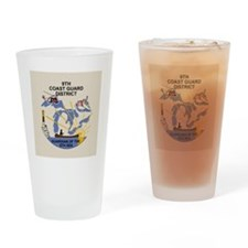 USCGPatchCGD9Button2.gif Drinking Glass