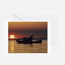 USCGPosterPatrolBoat.gif Greeting Card