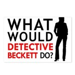 """""""What Would Detective Beckett Do?"""" Postcards (Pack"""
