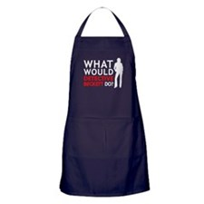 """What Would Detective Beckett Do?"" Apron (dark)"