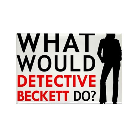 What would detective beckett do rectangle magne by wwkbd for Beckett tech support