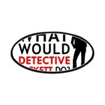 """""""What Would Detective Beckett Do?"""" Patches"""
