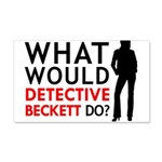 """""""What Would Detective Beckett Do?"""" 20x12 Wall Deca"""