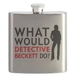 """""""What Would Detective Beckett Do?"""" Flask"""