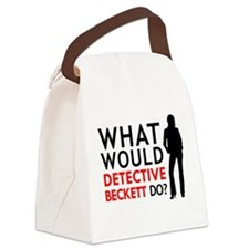 """""""What Would Detective Beckett Do?"""" Canvas Lunch Ba"""
