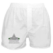 Stupid People In Washington DC Boxer Shorts
