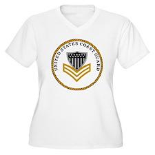 USCG-PO1-Ring.gif T-Shirt