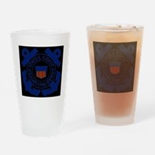 USCG-Logo-Blue-White.gif Drinking Glass