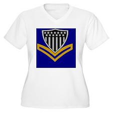 USCG-PO2-Tile-Box T-Shirt