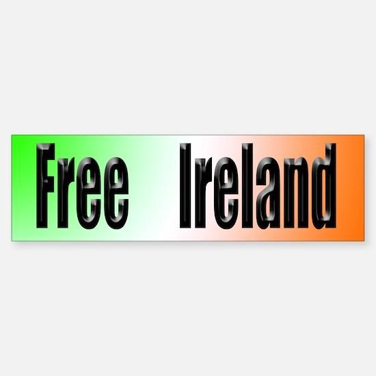 Free Ireland Bumper Bumper Bumper Sticker