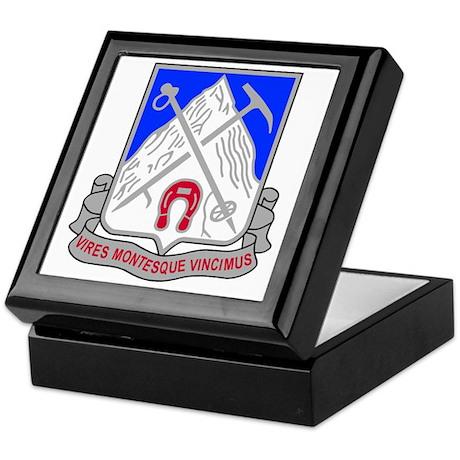 Army-87th-Infantry-Regiment-Bonnie.gi Keepsake Box