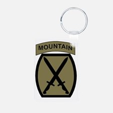 Army-10th-Mountain-Div-Woo Keychains