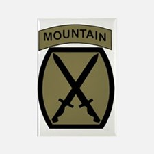 Army-10th-Mountain-Div-Woodland.g Rectangle Magnet