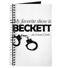 """""""My Favorite Show Is Beckett"""" Journal"""