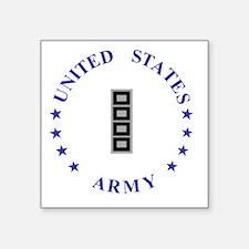 "Army-10th-Mountain-Div-CW5. Square Sticker 3"" x 3"""