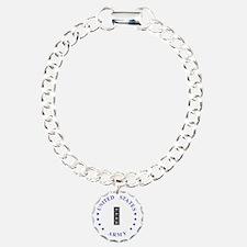 Army-10th-Mountain-Div-C Charm Bracelet, One Charm