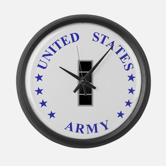 Army-10th-Mountain-Div-CW4.gif Large Wall Clock