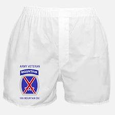 Army-10th-Mountain-Div-Veteran-Sticke Boxer Shorts