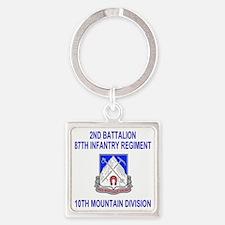 Army-87th-Infantry-Reg-Shirt-2.gif Square Keychain