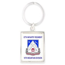 Army-87th-Infantry-Reg-Mousepad. Portrait Keychain