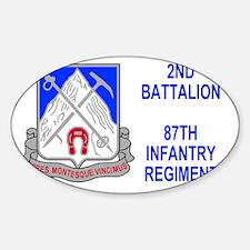 Army-87th-Infantry-Reg-Sticker-2nd- Decal