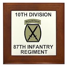 Army-87th-Infantry-Reg-Shirt-Olive.gif Framed Tile