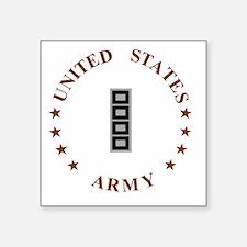 "Army-CWO5-Desert.gif Square Sticker 3"" x 3"""