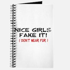 Nice Girls fake it! Journal