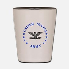 Army-Colonel-Blue.gif Shot Glass