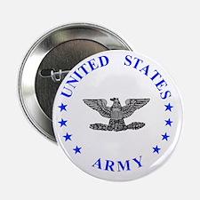 """Army-Colonel-Blue.gif 2.25"""" Button"""