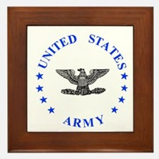 Army-Colonel-Blue.gif Framed Tile